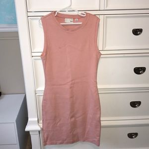 Aritzia Pink Sleeveless Dress Size XS